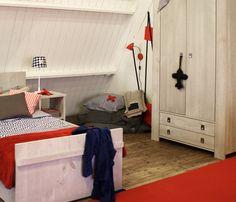 Stoere kamer met Hollandse kleuren