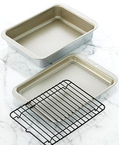 Nordic Ware Compact Ovenware 3 Piece Toaster Grill & Bake Set: 6x8 baker/broiler/casserole 16.99* 10%off
