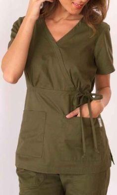 Amazon.com: KOI Medical Scrubs Katelyn Top: Clothing