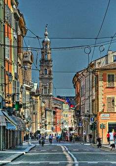 Parma, Italy... city in the Italian region of Emilia-Romagna famous for its prosciutto, cheese, architecture and countryside....home of the University of Parma, one of the oldest universities in the world.