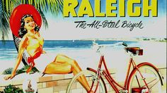 Vintage Raleigh Posters have a very distinct style