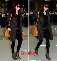 SNSD's Seohyun airport fashion