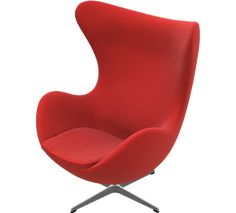 Egg Chair, Arne Jacobsen, 1958. I could also use one of these......