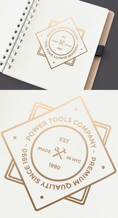 Golden Logo Mockup 2 | #freebie #logo #mockup Construction Company Logo, Construction Business Cards, Golden Logo, Seal Logo, Logo Shapes, Graphic Design Print, Branding Design, Logo Branding, Creative Logo