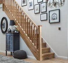 With a choice of Traditional, Modern or Contemporary styles, Richard Burbidge can refurbish your staircase with replacement balustrade and staircase parts. Loft Staircase, White Staircase, Staircase Runner, Winding Staircase, Staircase Design, Staircase Ideas, Oak Stairs, House Stairs, Hallway Decorating