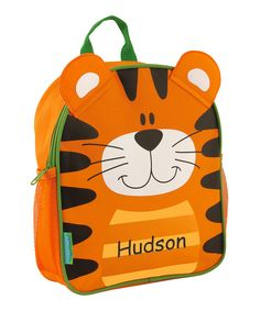 Look at this Tiger Personalized Mini Sidekick Backpack on #zulily today!