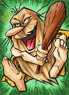 Captain Caveman from Hanna Barbera