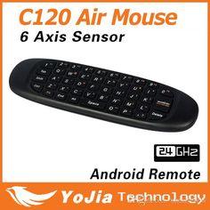 2.4GHz original g ratón iI / c120 air ratón inalámbrico recargable t10 gYRO aire fly mouse y combo teclado para android tV box ordenador hTPCal por mayor , $14.66 on Es.dhgate.com | DHgate