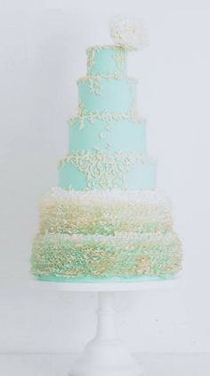 Wedding cake idea; Featured: T Bakes