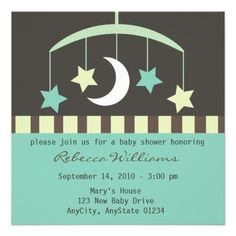 31 best twinkle little star baby shower images on pinterest star lullaby baby stars and moon mobile baby shower invitation invites invitations starry filmwisefo