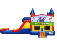 15 best cool warm weather inflatable water slides images rh pinterest com