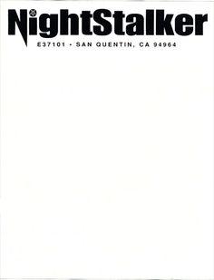 Serial killer Richard 'Night Stalker' Ramirez, 1999 | Source