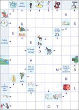 Kids Crossword Puzzles, French Education, Boredom Busters, Brain Teasers, Edd, New Job, Teaching Kids, Pixel Art, Montessori