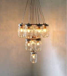 Mason Jar Lights <3