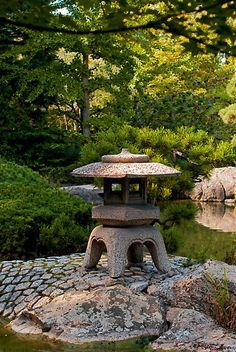 Japanese garden. Get more free teaching aids and homework resources for The Big…