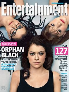 Tatiana Maslany | For more exclusive news on the return of Orphan Black and our list of 127 Criminally Underrated gems, pick up a copy of th...
