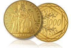 Paris Mint Releases € 1,000 Hercules Gold Coin (video).