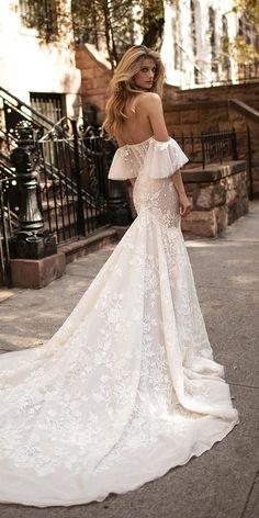24 Romantic Off The Shoulder Wedding Dresses ❤ See more: http://www.weddingforward.com/off-the-shoulder-wedding-dresses/ #wedding #dresses #modern
