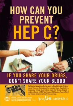 how can you precent hep c