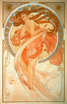 A. Mucha - La Danse