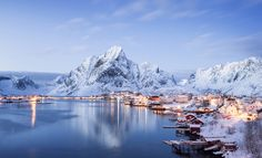 Reine, the most beautiful village in Norway. Photo by: Felix Roser