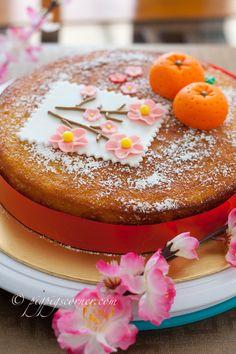 Chinese New Year Cake (nigella's clementine cake) Chinese New Year Cake, Chinese Cake, Chinese Party, Clementine Cake, New Year's Food, Fun Food, New Year's Cake, Food Challenge, Asian Desserts