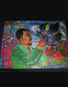 Fine Art of America  when the saints Art by Catina Miranda youtube Artist.