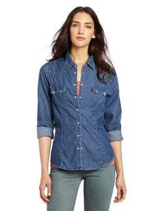 Levi's Women's Sawtooth Western Top   Love yourself