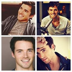 Fictional character yes, but my complete type... Mmm mr Fitz... Somehow I always end up with blonde blue eyed men
