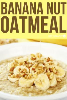 Oatmeal is one of those mundane breakfast options that is highly underrated for all the health benefits it provides. We eat it when we're sick to help boost our immune system, but it's a great way to start every morning. Paired with banana for fiber and vitamins, walnuts for those hard-to-find omega-3 fatty acids and almond milk for additional antioxidants, this oatmeal recipe will get your day started right and will keep you full and satisfied for those early mornings at work or school.