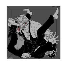 Kimetsu no yaiba [ yaoi ] - sanemi x genya Manga Anime, Anime Demon, Anime Art, Demon Slayer, Slayer Anime, Beelzebub Anime, Fanart, Manga Couple, Demon Hunter