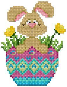 free easter cross stitch patterns - Google Search