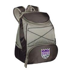 Picnic Time Sacramento Kings PTX Backpack Cooler, Black