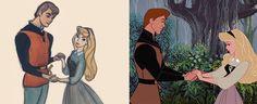 Antes x depois Walt Disney, Disney Characters, Fictional Characters, Disney Princess, Disney Films, Art, Disney Princes, Disney Princesses, Disney Face Characters