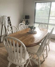 Dining Table, Rustic, Weather, Furniture, Home Decor, Instagram, Country Primitive, Decoration Home, Room Decor