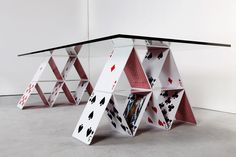 Cards Table Design by Mauricío Arruda – Fubiz Media