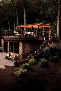 Garden Relaxation Area…