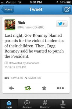 Wonder if he's proud his son stated he wanted to swing at President Obama?