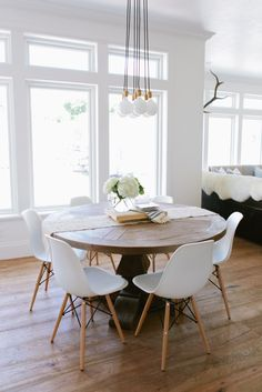Mixing Dining Tables & Chairs - House of Jade Interiors Blog