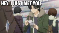 Wow what an expressive way of confessing yourself. Tags: kisa shouta ; yukina kou ; sekaiichi hatsukoi