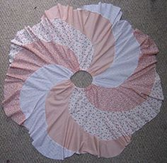 DIY TUTORIAL: Spiral Panel Patchwork Skirt Patterns & Tutorials