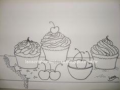 riscos cupcakes - Pesquisa Google