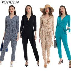 Toamna aceasta alege salopeta versatilă Loretta🍁 Intra pe www.resense.ro pentru a vedea mai multe modele! Lasa-mi un comentariu cu modelul preferat. Mai, Jumpsuit, Dresses, Design, Women, Fashion, Stuff Stuff, Overalls, Vestidos