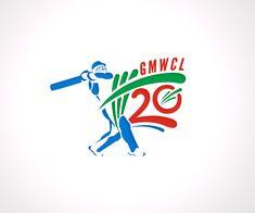 Logo Design by DEZIGN RABBIT for Cricket League #cricket #logo #design #DesignCrowd #sport