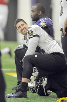 Ravens tight end Dennis Pitta waits around during practice Thursday in Owings Mills.