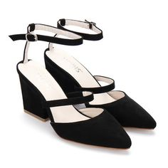 A hot pair of heels are a failsafe way to stay fashionable. As a sweet perk-me-up for a simple maxi or sundress, these block heels with pin buckle ankle straps are ladies style staples. Put them on and be ready for compliments!