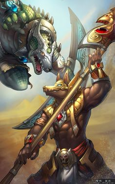 Renekton vs. Nasus League of Legends LoL  gatehred by http://how2win.pl
