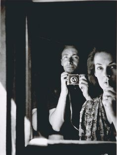 """Albert Tucker: """"In the mirror: self portrait with Joy Hester"""" (1939) Collection of the National Portrait Gallery, Australia."""