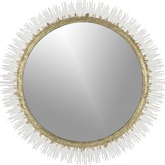 Clarendon Large Wall Mirror $249.00 Currently it is backordered, but they still let you purchase it. Will find another option. Great accent for the wall, possibly by bar area?
