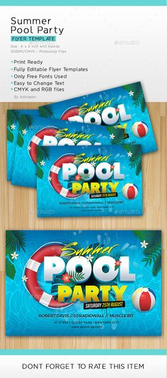 Back to School Party Flyer Template School parties, Party flyer - holiday party flyer template